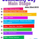 Community Day Performance Schedule-June 22