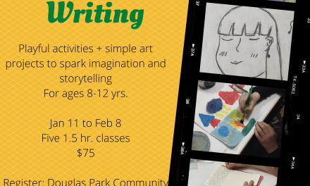 Creative Writing for 8-12 yrs