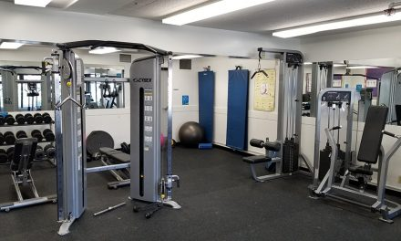 Exercise room is open to registered programming.