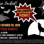 Halloween Howl Pre-Teen Dance-Oct 25