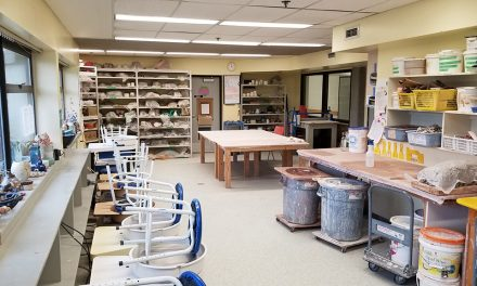 Pottery studio is in the process of reopening