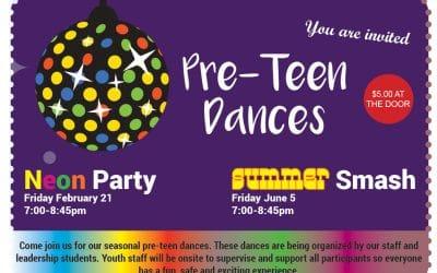 Pre-Teen Dance-Feb 21